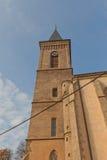 Колокольня церков нашей дамы Na Nameti в Kutna Hora Стоковые Фото