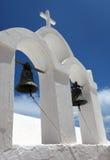 Колокольня Oia, Santorini Стоковое Изображение RF