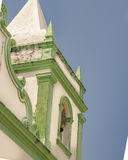 Колониальная барочная церковь натальная Бразилия Стоковые Фотографии RF
