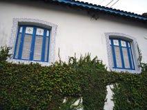колониальная дом старая Стоковые Фото
