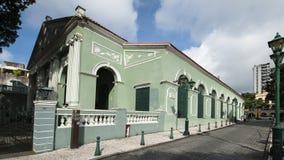 колониальная дом macau Стоковое Изображение