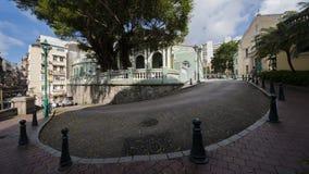 колониальная дом macau Стоковое Изображение RF