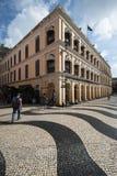 колониальная дом macau Стоковая Фотография RF