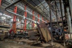 Колониальная фабрика сахара в Gondang Baru, Ява, Индонезии Стоковые Фото