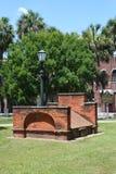 Колониальное кладбище парка стоковое фото rf