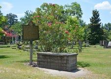 Колониальное кладбище парка стоковая фотография