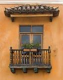Колониальный балкон стоковые изображения