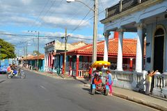 Колониальный городок Pinar del RÃo, Куба Стоковые Фото