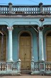 Колониальный городок Pinar del RÃo, Куба Стоковое фото RF