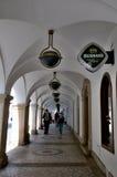 Колоннада в центре Либерца Стоковая Фотография RF