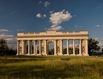 Колоннада Reistna, Valtice, ЮНЕСКО стоковые фото