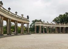 Колоннады в Sanssouci, Потсдаме, Германии Стоковое Изображение RF