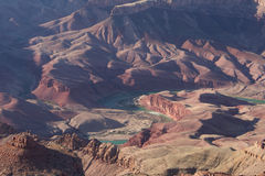 Колорадо в гранд-каньоне Стоковые Изображения RF