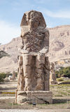 Колоссы Memnon Стоковое Изображение RF