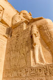 Колосс Abu Simbel Стоковые Изображения