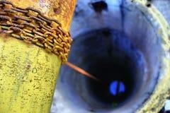 Колодец желтого цвета Стоковые Фотографии RF
