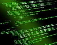 Код программы Стоковое фото RF