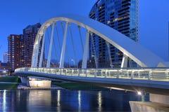 Колумбус, Огайо на сумраке Стоковое Фото