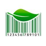 Код штриховой маркировки также вектор иллюстрации притяжки corel Стоковое фото RF
