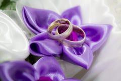 Кольца золота Стоковые Фотографии RF
