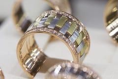 Кольца золота стоковое фото rf