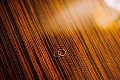 кольца золота wedding Стоковая Фотография