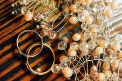 кольца золота wedding Стоковое Изображение RF