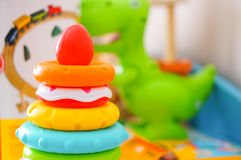 Кольца игрушки Стоковые Изображения RF