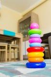 Кольца игрушки Стоковые Изображения