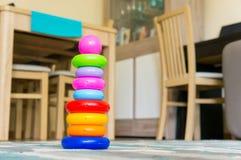 Кольца игрушки Стоковая Фотография