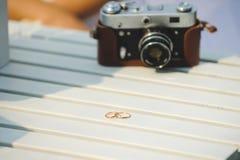 2 кольца и камеры Стоковое Изображение RF