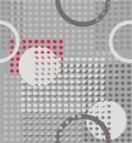 Кольца и круги абстрактная геометрия иллюстрация штока