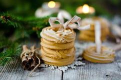 Кольца печенья Shortbread рождества Стоковое Изображение