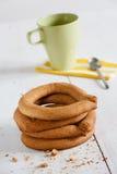 Кольца печенья Tradicional португальские Стоковое Изображение RF