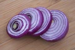 кольца лука предпосылки деревянные Стоковое Фото