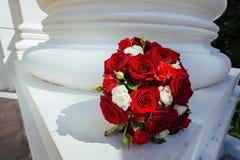 Кольца для wedding букета Стоковое Изображение RF