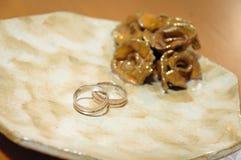 2 кольца стоковое фото