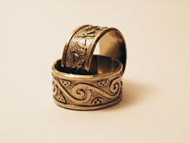 2 кольца Стоковое фото RF