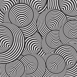 Кольца Op искусства бесплатная иллюстрация