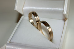 кольца wedding белизна Стоковое Изображение RF