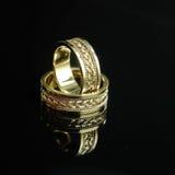 4 кольца wedding Стоковые Фото