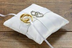 02 кольца wedding Стоковое фото RF