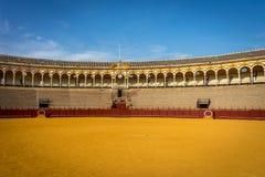 Кольцо бой быка на Севилье, Испании, Европе Стоковые Фото