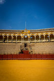 Кольцо бой быка на Севилье, Испании, Европе Стоковое Фото