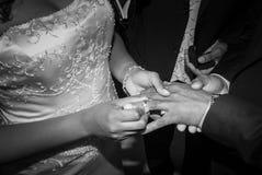 Кольцо в пальце стоковое изображение