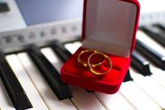 Кольцо замужества Стоковое Изображение RF