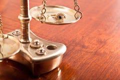 Кольцо золота Стоковые Фото