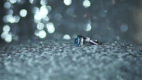 Кольцо диаманта видеоматериал