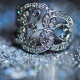 Кольцо макроса Стоковое Фото