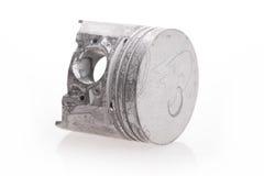 кольцо поршеня двигателя изолированное на белой предпосылке Стоковая Фотография